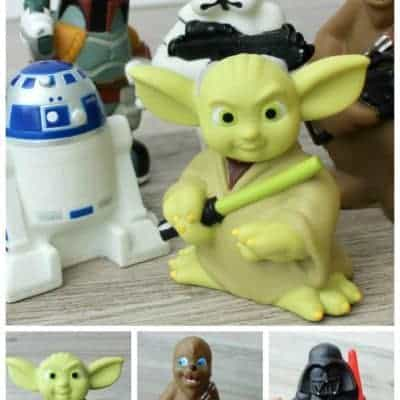 The Most Epic Bath Toys On Planet Earth {Star Wars}