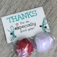 End Of Year Teacher Appreciation Free Printable Using EOS Lip Balm