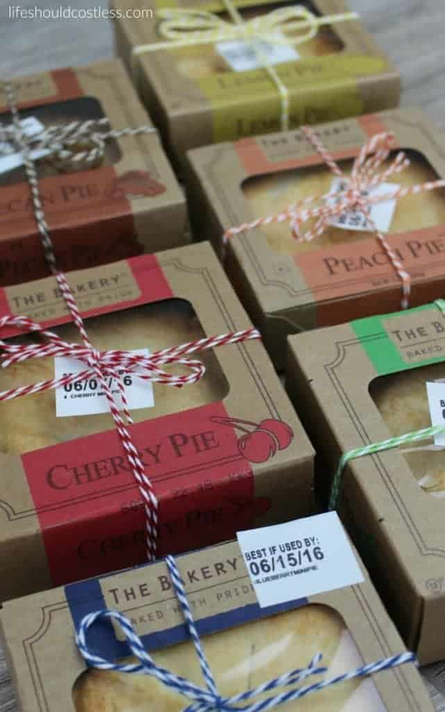 A gift idea that's as easy as pie, and costs less than $1 each.