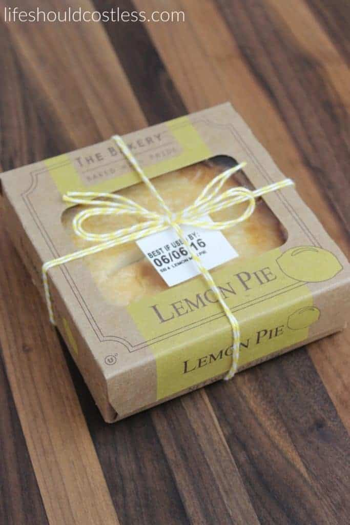 A gift idea that's as easy as pie, and costs less than $1 each. Lemon Yellow. {lifeshouldcostless.com}