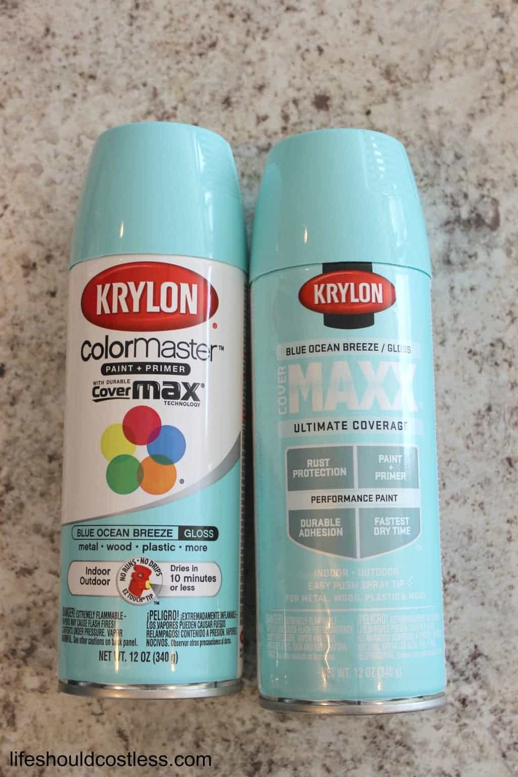Krylon Blue Ocean Breeze Spray Paint Looks Like Tiffany Blue Life Should Cost Less