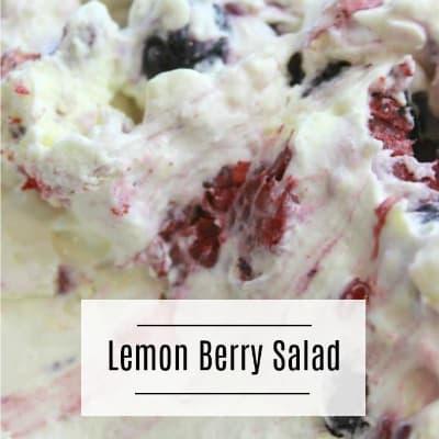 Lemon Berry Salad