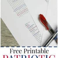 Free Printable Patriotic Word Search (with three different skill levels)