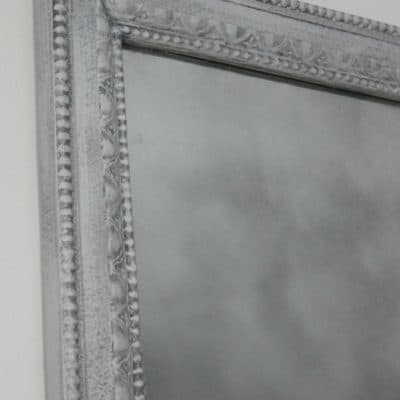 DIY Framed Print Turned Faux Antique Mirror