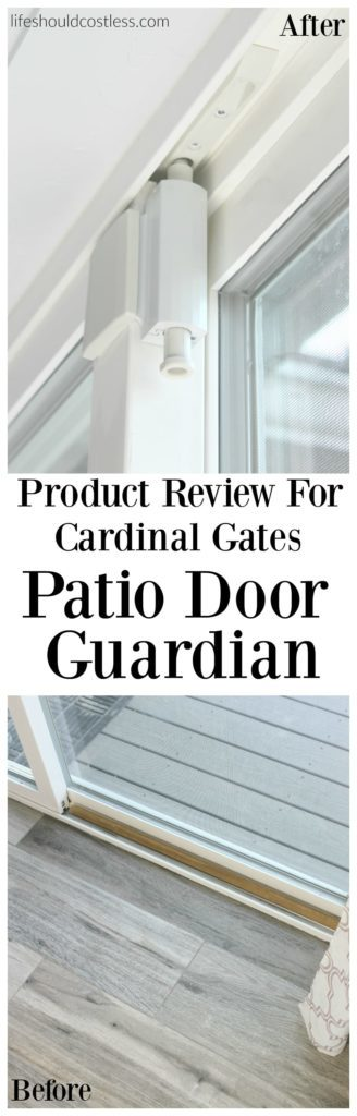 Product Review For Cardinal Gates Patio Door Guardian. Itu0027s For Sliding  Glass Doors.