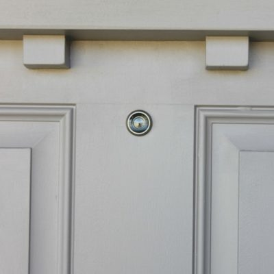DIY: How To Install A Peep Hole In Your Front Door
