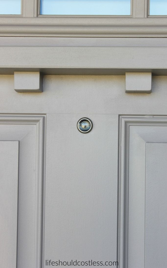 install how image a front trendy doors in your to top outletcool peephole camera full door