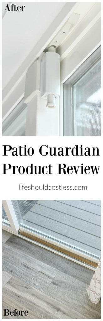 Patio Guardian Product Review. It's a lock for your sliding glass door!