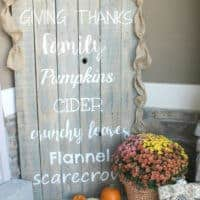 2016 Fall Porch Reveal