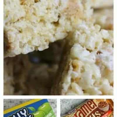 Caramel Apple Rice Crispy Treats