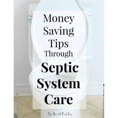 Money Saving Tips Through Septic System Care