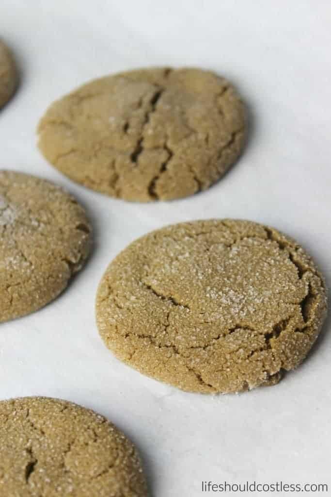 Grandma Utahna's Molasses Cookies