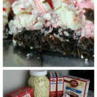 Peppermint Marshmallow Brownies