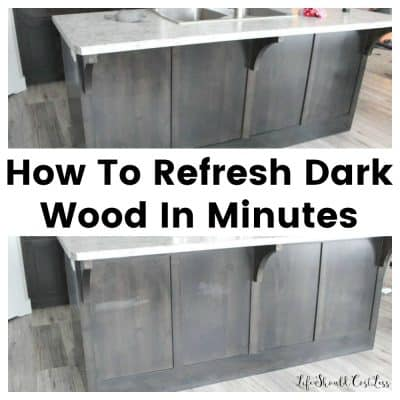 How To Refresh Dark Wood In Minutes
