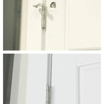 How To Patch A Hollow Door