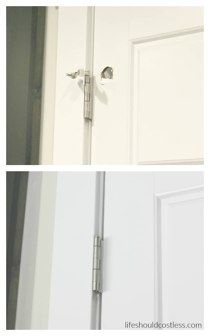 & How To Patch A Hollow Door - Life Should Cost Less