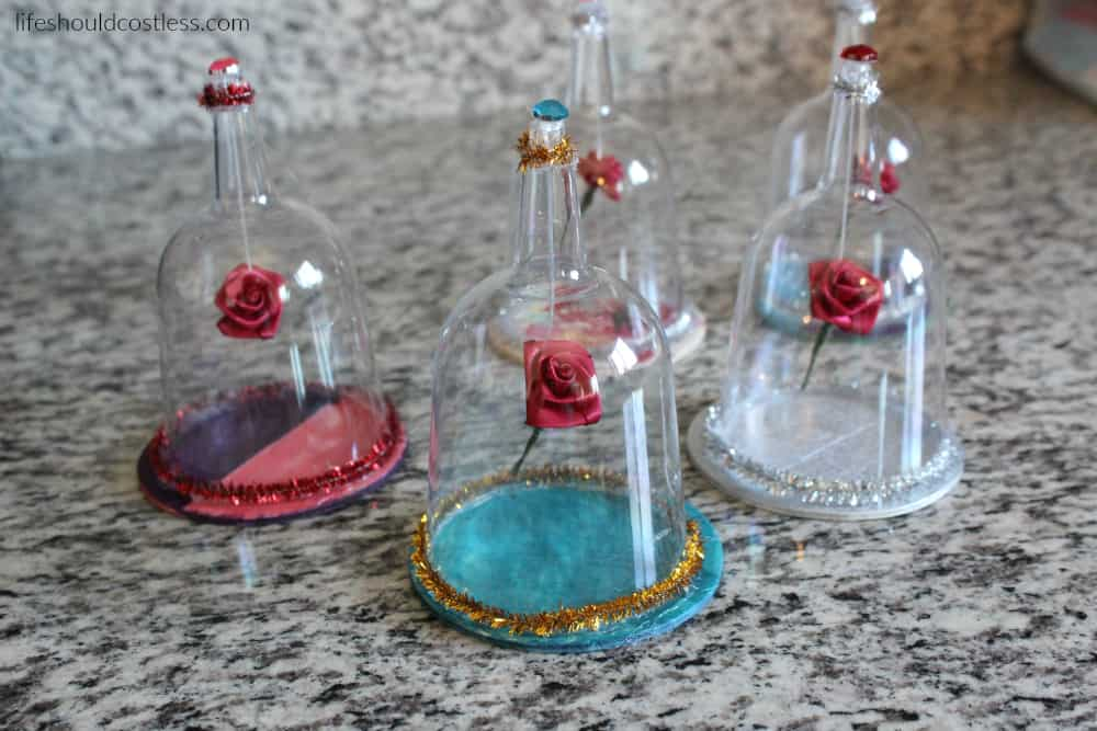 Beauty And The Beast Floating Rose Kids Craft