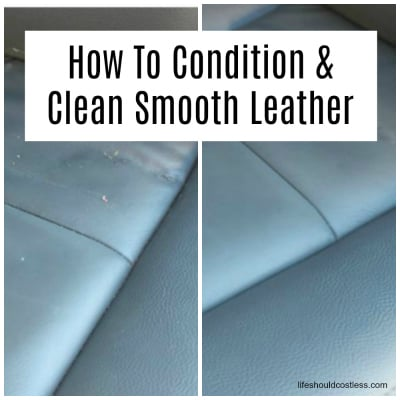 How To Condition And Clean Smooth Leather At The Same Time