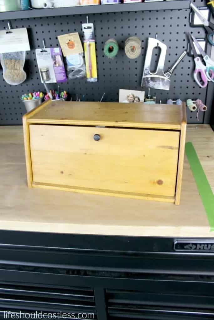 Bread box make-over.