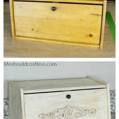 Bread Box Make-Over {with video}