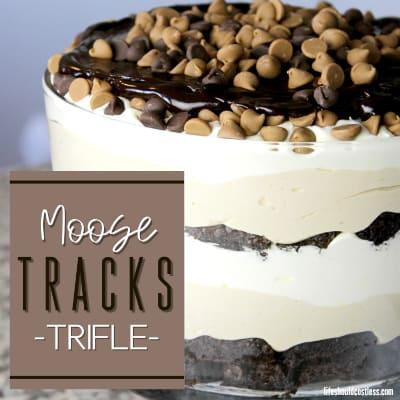 homemade chocolate peanut butter trifle