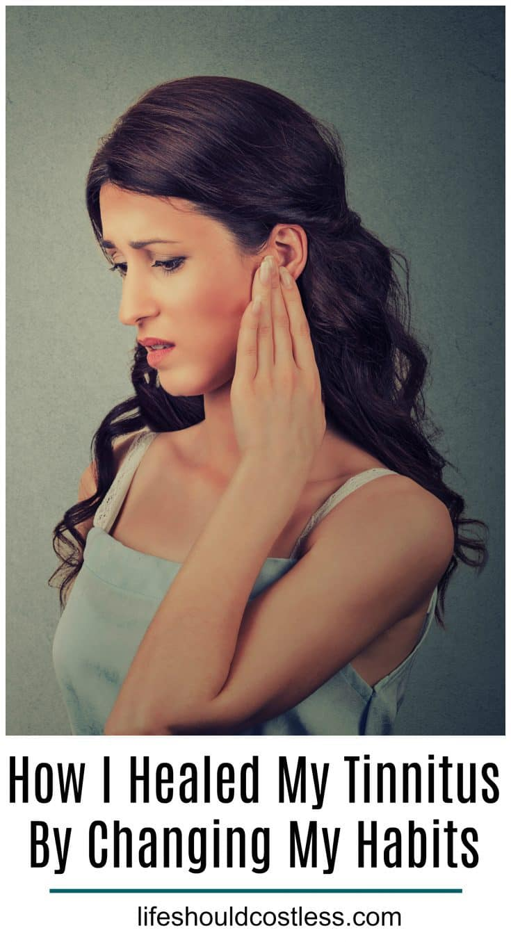 How I Healed My Tinnitus By Changing My Habits. Easy home remedy for tinnitus relief. lifeshouldcostless.com