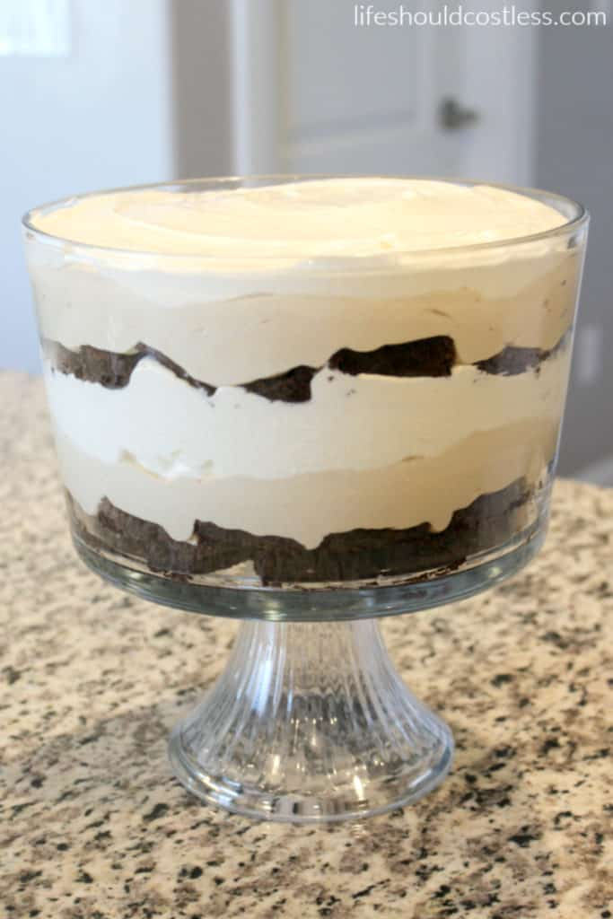 Moose Tracks Trifle