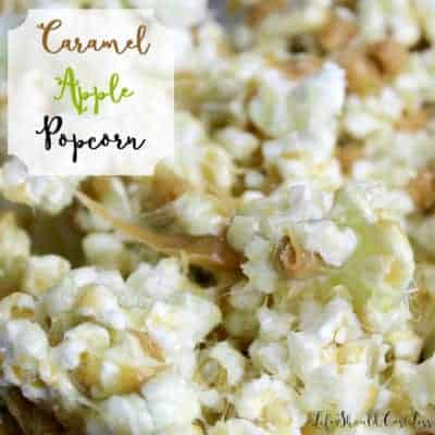Caramel Apple Popcorn Recipe