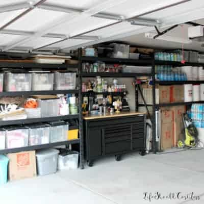 Garage Organization Reveal