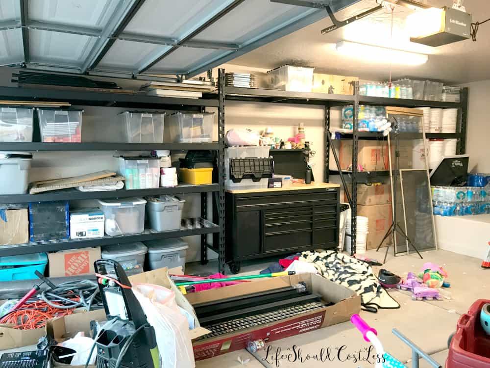 garage organization reveal life should cost less. Black Bedroom Furniture Sets. Home Design Ideas