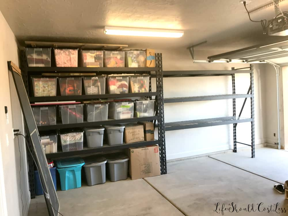 Garage Organization Reveal Life Should Cost Less