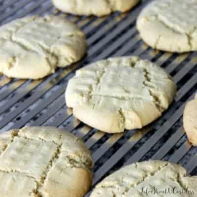 Great Grandma Rachel's Peanut Butter Cookies