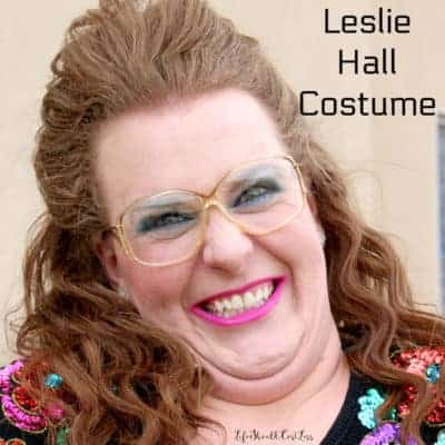 Leslie Hall Costume {Halloween 2017}
