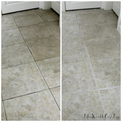How To Clean Grout With Water {The Easiest Way To Clean Grout EVER}