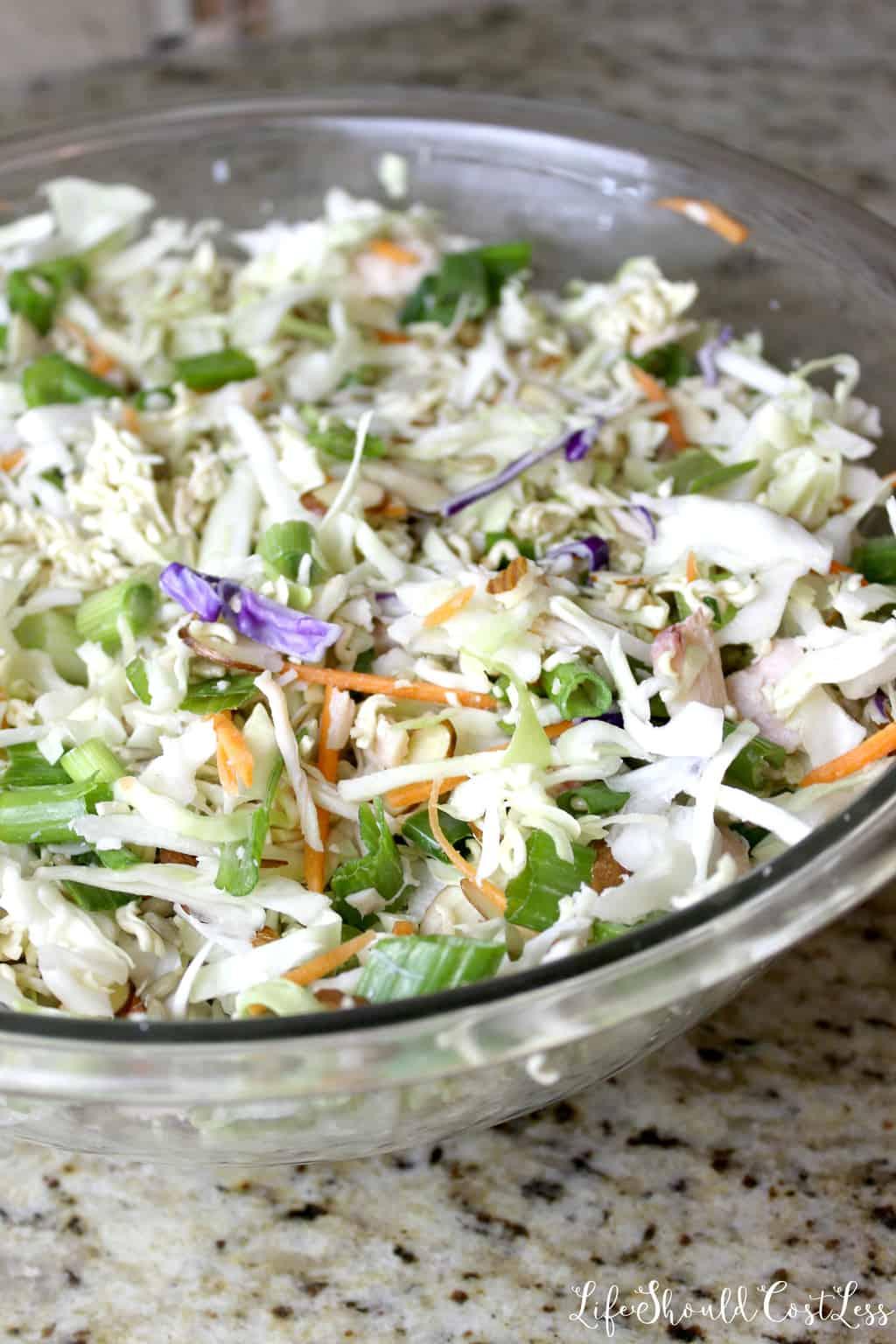 Top Ramen Chicken Salad