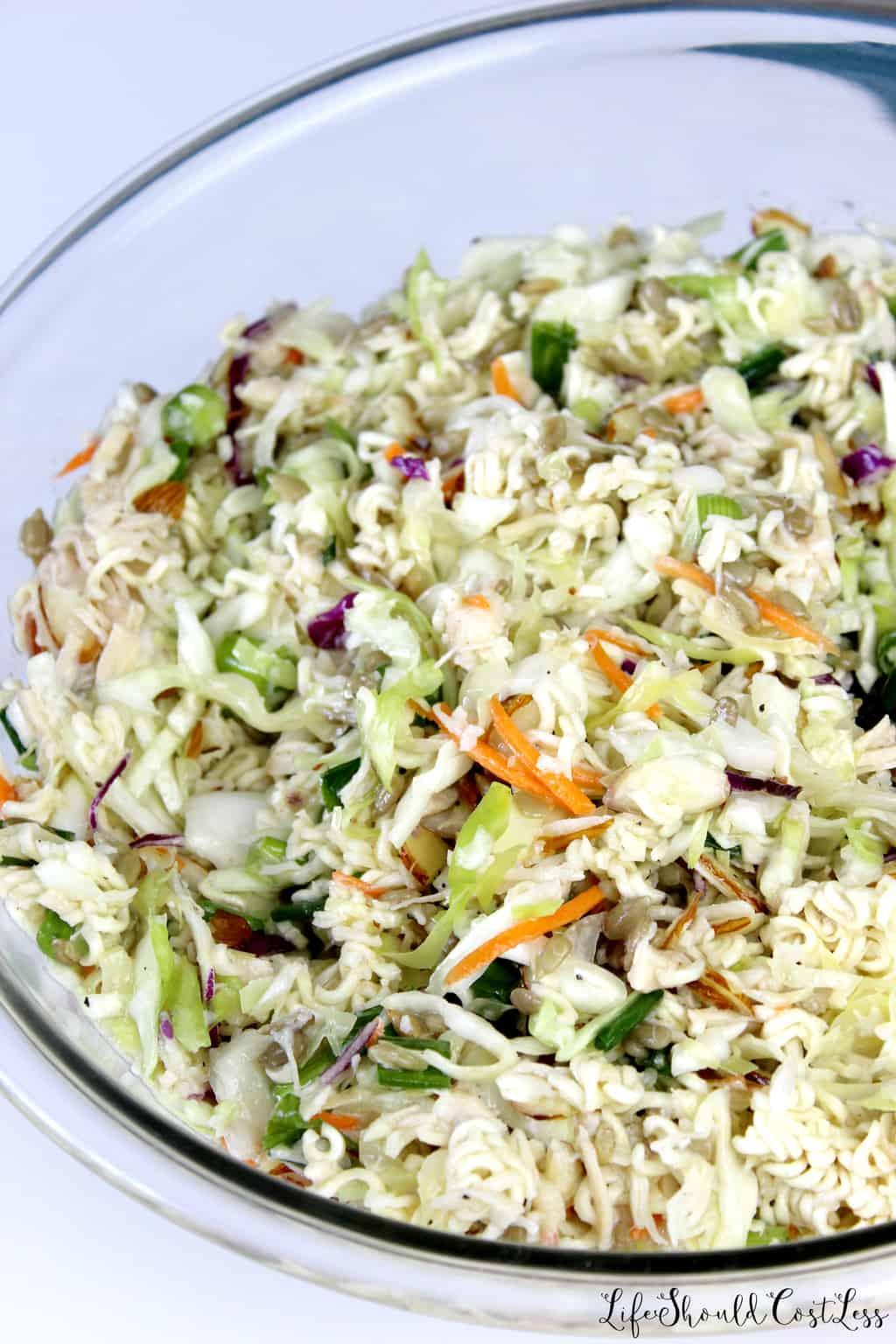 Top Ramen Chicken Salad Recipe.