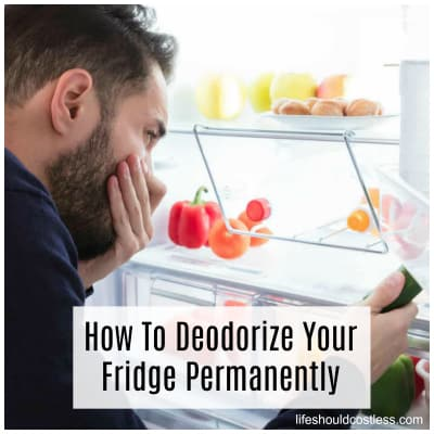 How To Deodorize Your Fridge Permanently