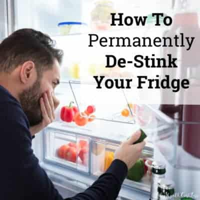 How To Permanently De-Stink Your Fridge