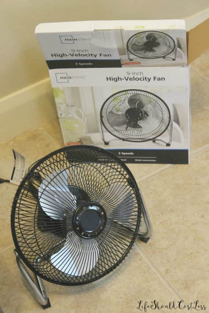 What type of fan used for building a five gallon bucket air conditioner (a/c). lifeshouldcostless.com