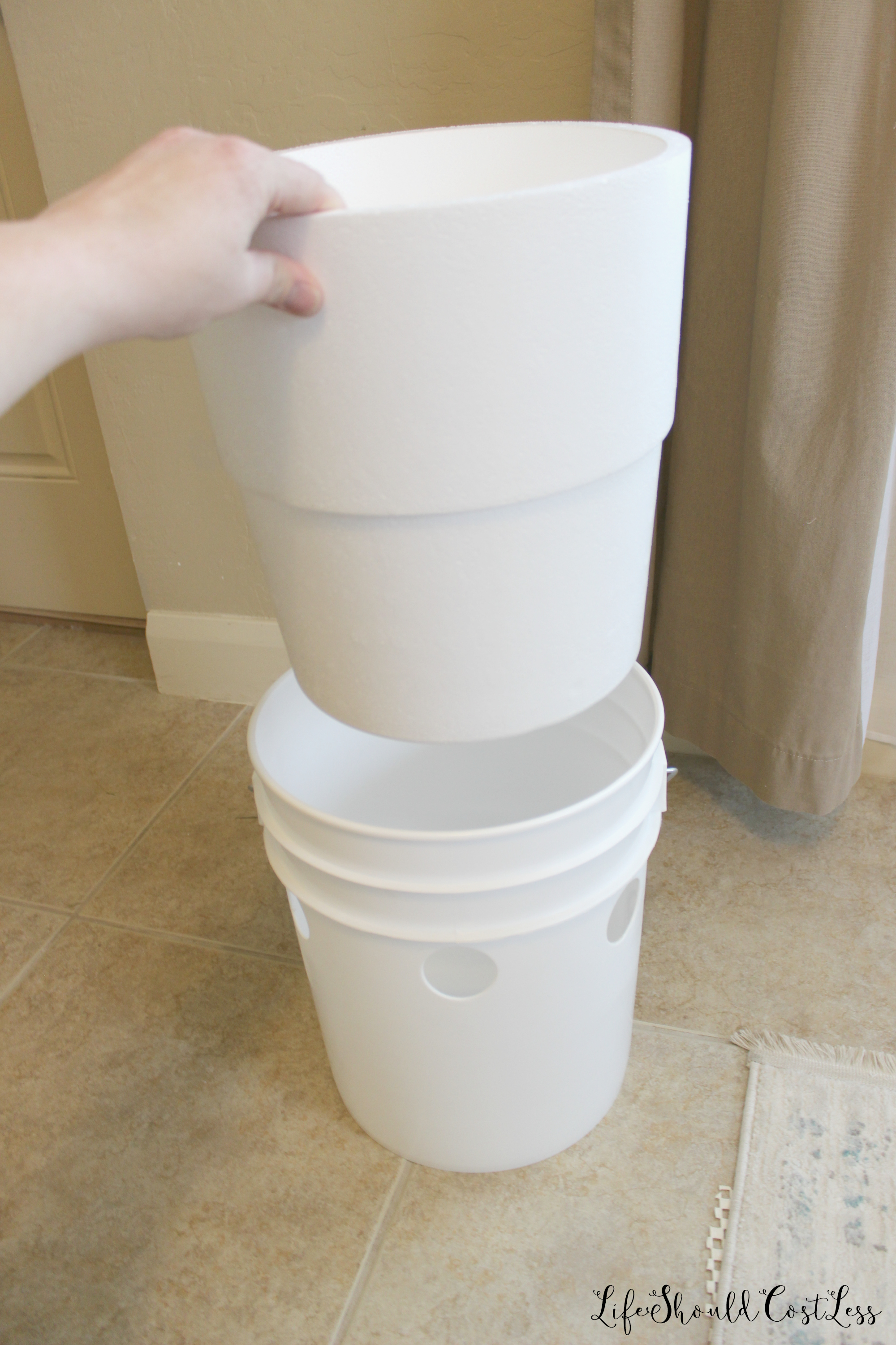 How To Make A Five Gallon Bucket A C Unit With Option To