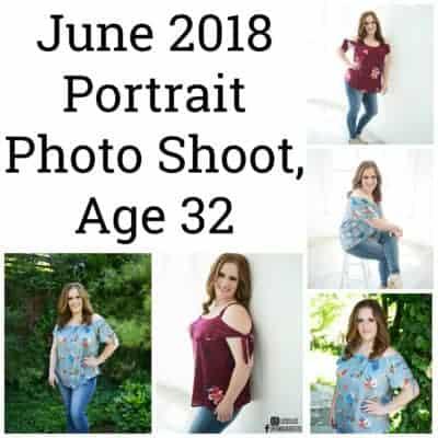 June 2018 Portrait Photo Shoot, Sarah Age 32