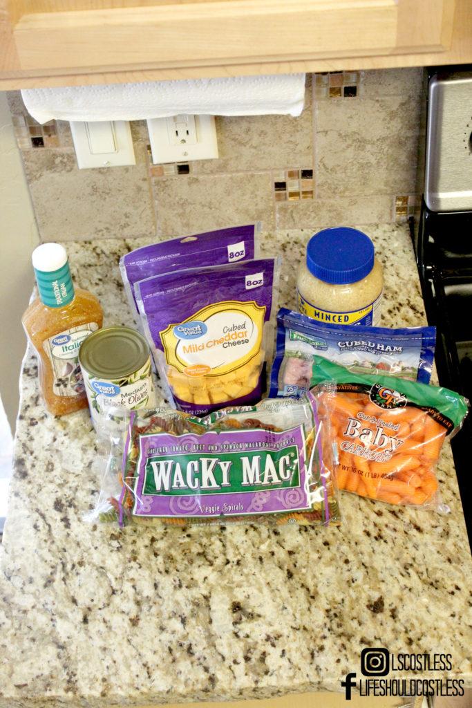 Kick-Ass Pasta Salad Recipe Ingredients 2