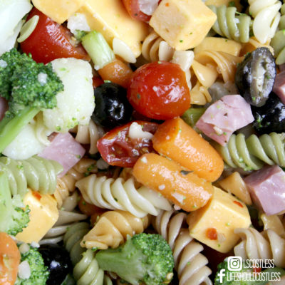 Kick-Ass Pasta Salad Recipe