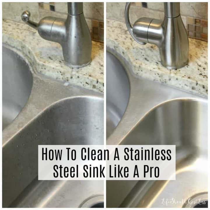 How To Clean A Stainless Steel Sink Like Pro Cleaning 101