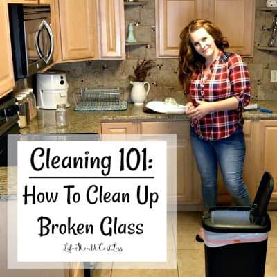 Cleaning 101: How To Clean Up Broken Glass