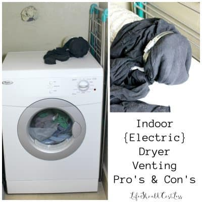 Indoor {Electric} Dryer Venting Pro's & Con's
