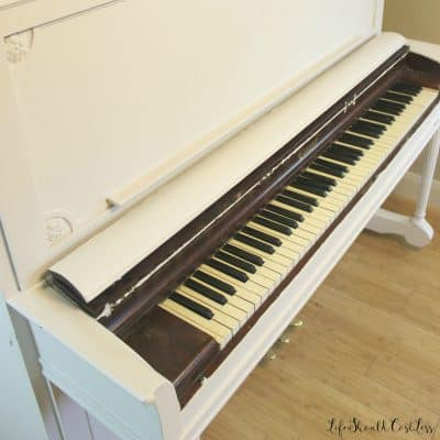 Upright Piano: Before Chalk Paint Make-Over
