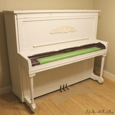 Upright Piano Make-Over: Prepping For Paint