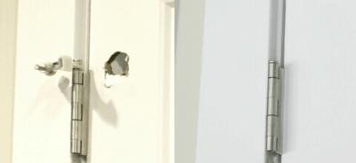 how to patch a door