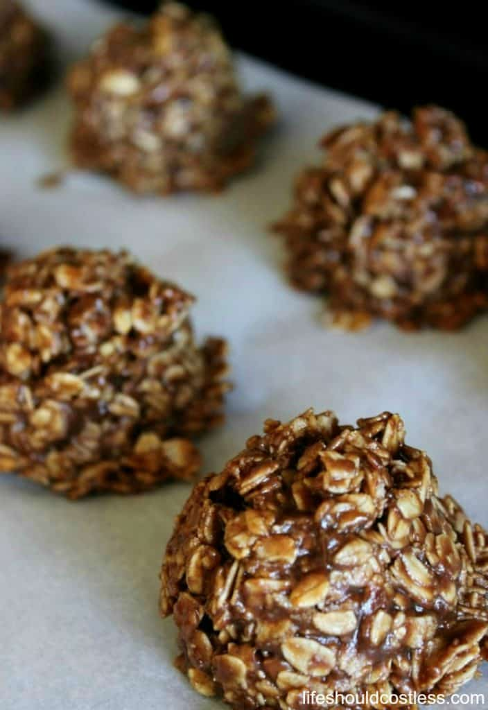 Clean Eating/Real Food No Bake Cookies Recipe. lifeshouldcostless.com